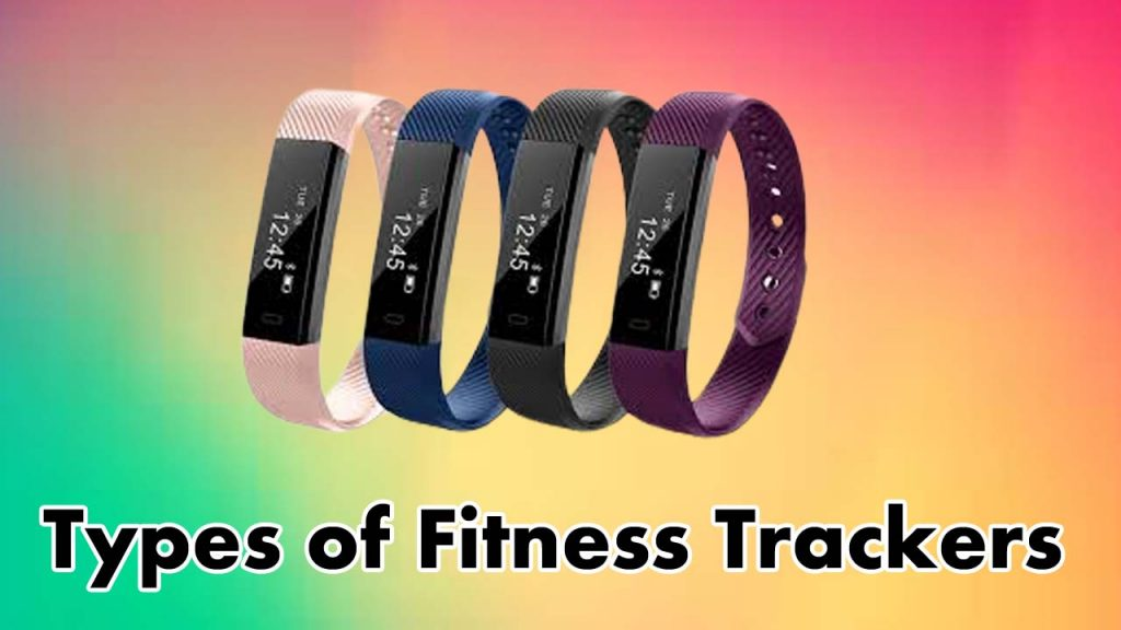 Types of fitness tracker